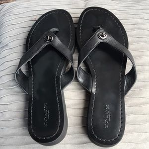 Coach sandals good condition